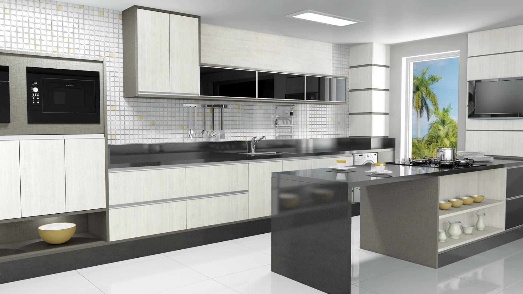 Vitta Ambientes Planejados » COZINHA # Bancada Cozinha Inox Sob Medida