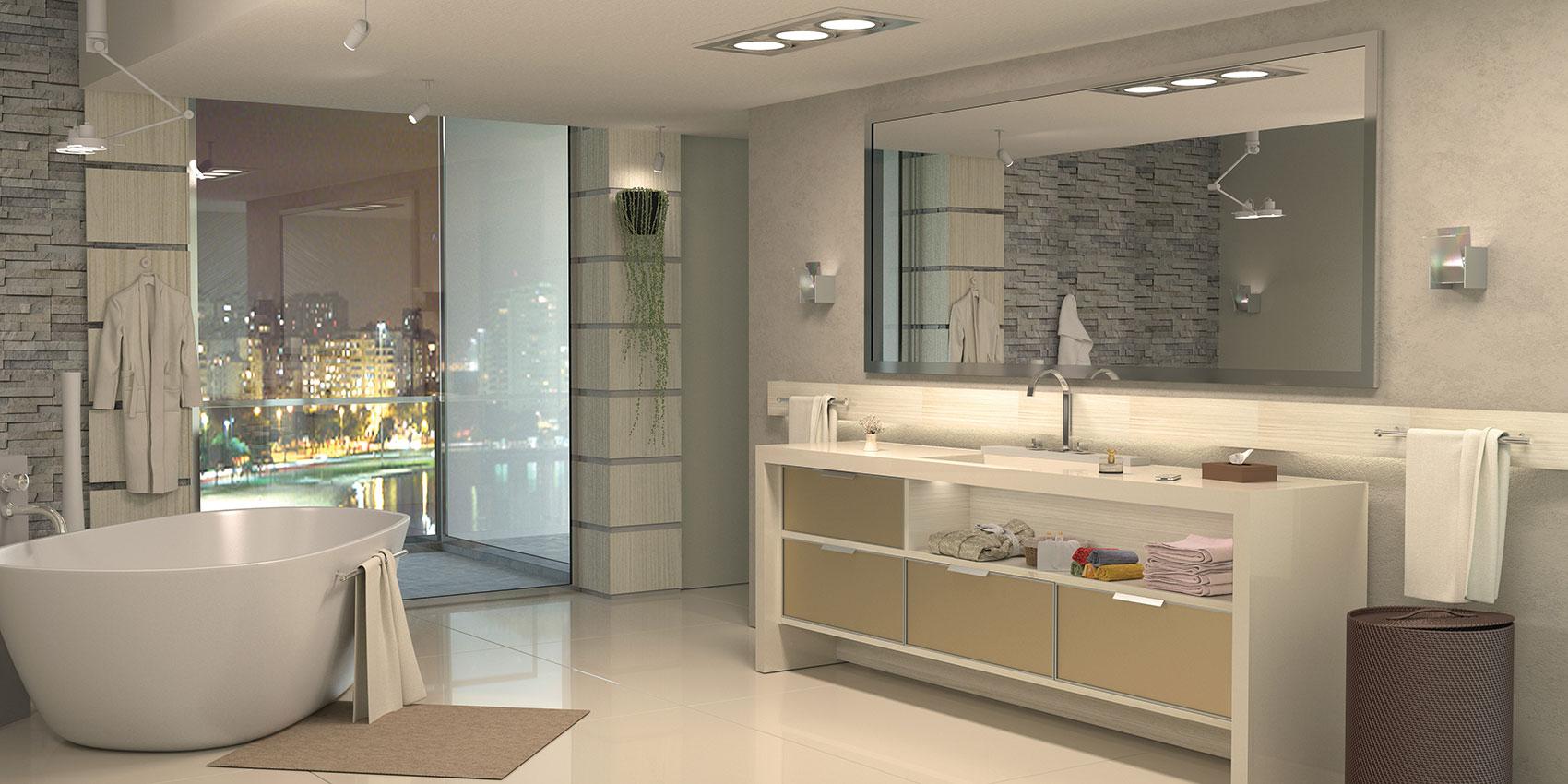 Vitta Ambientes Planejados » BANHEIRO -> Banheiros Planejados Df